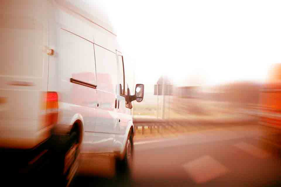 When we have time, and it is possible, we can send you a dedicated vehicle, with a crew of one or two persons.